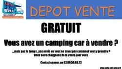 NOUS RECHERCHONS DES CAMPING CAR EN DEPOT-VENTE